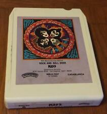 (8 track cassette) KISS - ROCK AND ROLL OVER (1976 UNTESTED)