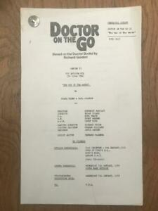 Richard Gordon 1976 London Weekend Television Script for Doctor On the Go Ep 6