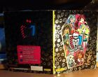 ALBUM MONSTER HIGH EDIZIONE PANINI 2012 +170 FIGURINE INCOLLATE-BUONO