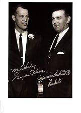 """Gordie Howe and Maurice """"Rocket"""" Richard - very Rare!"""