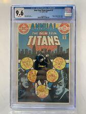 New Teen Titans Annual #2 (CGC 9.6 NM+) DC Comics 1983