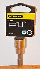 New Stanley Hex Socket Driver 3/8 Drive x 7 mm Hex
