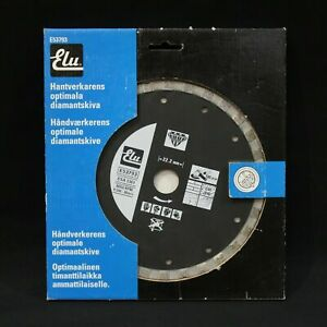 Elu E53793 180mm/17.8cm Ultimate Seco Corte Diamante Disco Ladrillo, Hormigón,