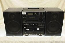 SONY FH-414 II Ghetto Blaster/ HiFi Stereo System + Phono Input HST-414 Boombox