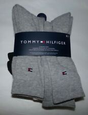 NWT MENS TOMMY HILFIGER CREW SOCKS~6 PAIRS~ASSORTED
