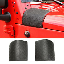 Side Hood Body Armor Cowl Cover Trim For Jeep Wrangler JK 2007-2017 Accessories