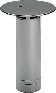 Abdeckhaubenstandrohr Duoplex d=75mm f.Duschwannen m.52mm Ablauf, verchromt