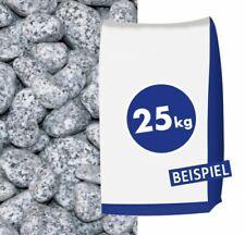 (0,68€/1kg) Granit-Gletscherkies Grau 25-40mm 25kg Sack Gletscher Kies