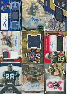 LOT (27) NFL Football Topps Brand RPA Game Jersey Rookie Patch Relic AUTO RC /15