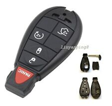Uncut Blank No Chip Remote Key Shell Case Chrysler Jeep Commander Grand Cherokee