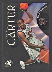 1998-1999 Vince Carter Skybox EX Century Rookie Card #89 Toronto Raptors - HOF