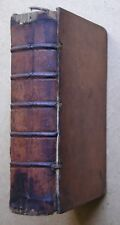 1740. Horace. Quinti Horatii Flacci Opera. Leather Bound.