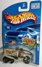 Hot Wheels 2002 Collector #140 XS-IVE WSMR Missile Range ATEC Cream Gold ORSBs