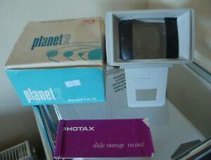 Vintage Photax 2 Slide Viewer In Box - Good Working Order - Nice Little Viewer!