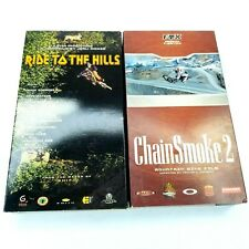 Fox Chain Smoke 2 Ride To The Hills VHS Mountain Bike Videos MTB Freeride Lot 2