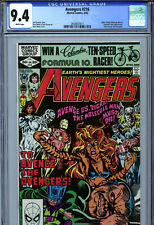 Avengers #216 (1982) Marvel CGC 9.4 White Pages Silver Surfer Molecule Man FF