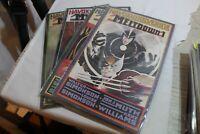 Havok & Wolverine Meltdown 1-4 Complete set Limited Marvel series  X-MEN 1989