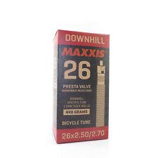 Maxxis DH Downhill Tube Mountain Bike 38mm Presta Removable Valve Core 26 X 2.5/2.7