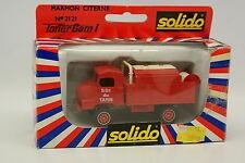 Solido 1/50 - Simca Unic Marmon Citerne Pompiers du Tarn