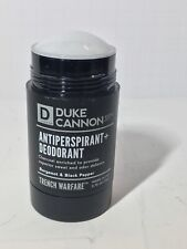 Duke Cannon Trench Warfare Antiperspirant + Deodorant - Bergamot & Black Pepper