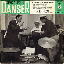 ARMAND MOLINETTI SCAT VOCAL JAZZ 50'S EP ODEON 3520 ROCK !