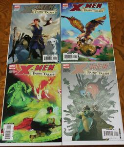 X-Men FAiry Tales 1 2 3 4  Full Run  AVG NM+ SET