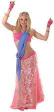 SEXY BEAUTIFUL DELUXE BLUSHING BELLY DANCER ADULT COSTUME MEDIUM 8 - 10