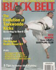 Black Belt July 2004-Bruce Lee'S Jeet Kune Do Fighting Secrets Revealed