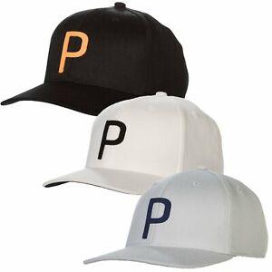 Puma Golf Throwback P 110 Snapback Adjustable Cap Hat - Multiple Colors OSFM