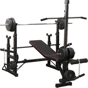 Fitplus Heavy Duty Multifunction All-in-One Adjustable Weight Bench with