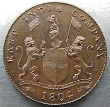 Sumatra 4 Kepings 1804 choice UNC. (one brushed area). Rare grade !