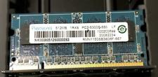512MB DDR2-667 PC2-5300 SODIMM (Kingston equiv KFJ-FPC218/512)