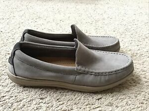 Cole Haan Boothbay Mens Loafers Gray Grand OS 10.5 M Slip On Casual Shoes C24693