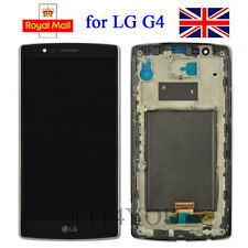 For LG G4 Black H818 Double sim card Digitizer Touch Screen LCD Display & Frame