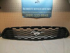 FORD MUSTANG UPPER AND LOWER OEM GRILLE V6 2015 2016 15 16