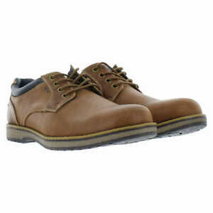 NEW!! Izod Men's Brown Cal Casual Lace Up Shoes Variety in Size