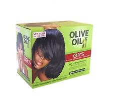 ORS Olive Oil Hair Relaxer No Lye Kit - EXTRA STRENGTH * UK SELLER *