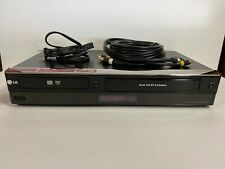 Lg Rc897T Dvd Vcr Combo Player Recording Digital Tv Tuner 1080p W/ Cables Tested