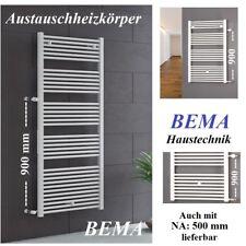 Badheizkörper - BH 1250 x BB 520 mm - Austauschheizkörper Badezimmer  NA: 900 mm