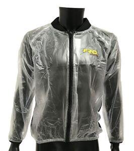NEW Adult Clear Waterproof Race Jacket - Rain, Mud, Motocross, MX, FRO Systems