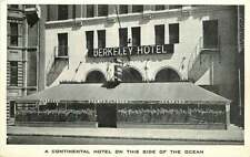 Postcard Berkeley Hotel, Montreal, Canada - A Continental Hotel
