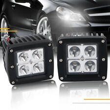 2X 3INCH Cube LED Light Bar Spot Off-road Jeep Truck Bumper Backup Lamp 3x3