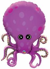 "Amazing Octopus 35"" Foil Balloon - Under the Sea Party"