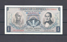 COLOMBIA BANKNOTES  $1 1964 REPOSITION