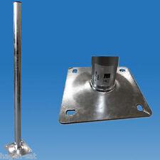 Balkonständer Standfuß Satständer Satmast 80 cm Feuerverzinkt High Quality !!!