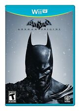 NEW Batman: Arkham Origins  (Nintendo Wii U, 2013)