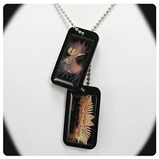EDWARD DOG TAGS Twilight Breaking Dawn Logo Cullen Photo Picture Necklace NECA