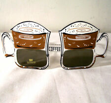 12 PAIR COFFEE CUP SUNGLASSES party sunglass UV #141 eyewear novelty new glasses