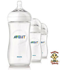 Avent Natural Feeding Bottle, New Design, 11 oz, 3 pack, BPA Free