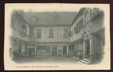 Yorks YORK St William's College Courtyard 1903 PPC